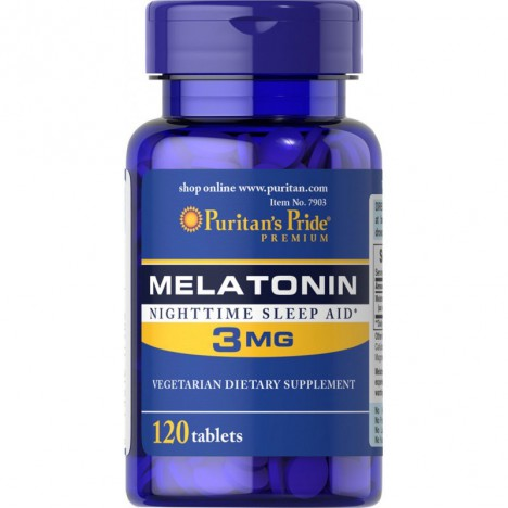 Melatonina 3mg Puritans Pride 120 tabletek