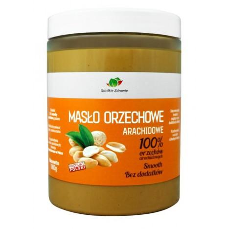 Masło orzechowe arachidowe 100% bez cukru bez soli