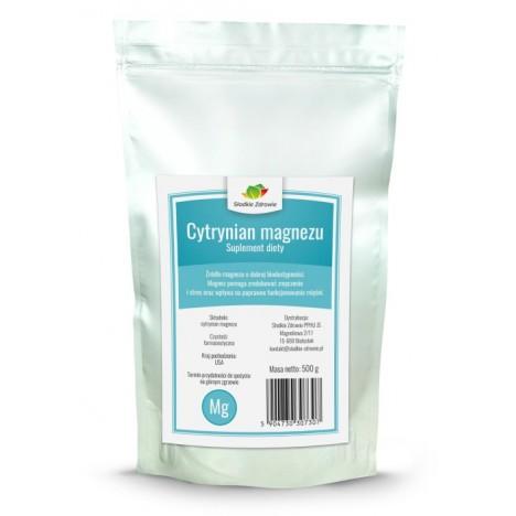 Cytrynian magnezu 500g
