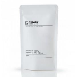 Witamina K2 MK-7 100 mcg + D3 4000iu - 120 tabletek