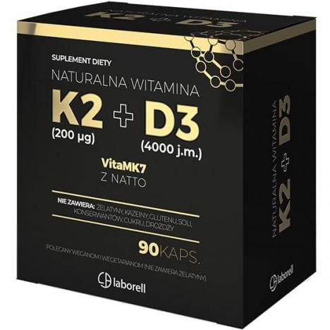 witamina k2 200mcg de 4000iu Laborell